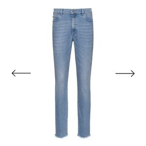 Hugo Boss high rise jeans